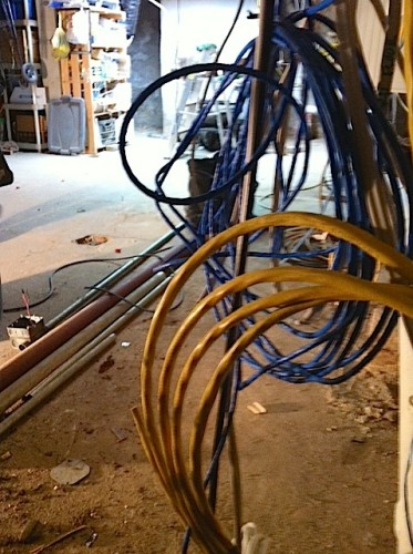 In the Works: Whole-House Rewire | Myers Constructs, Inc.