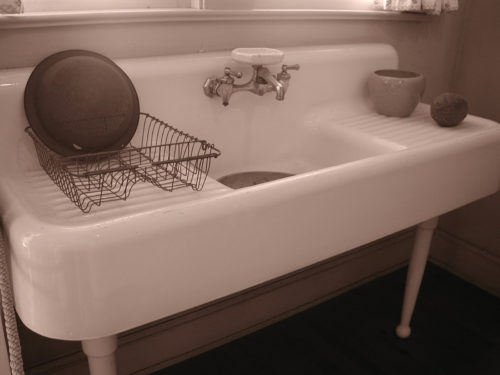 Enamel Kitchen Sink