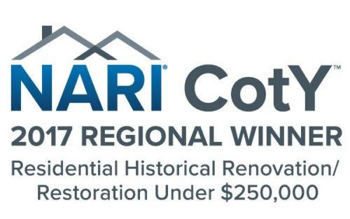 Myers Constructs Wins 2017 NARI CotY Regional Award for Restoration