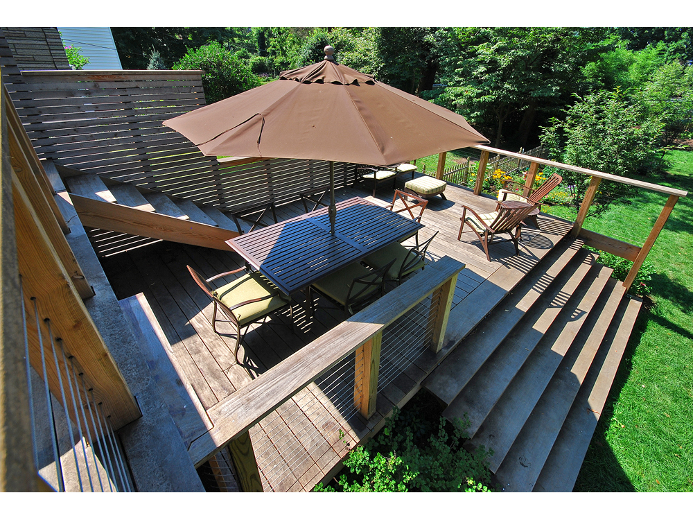 Mt. Airy Two-Level Deck